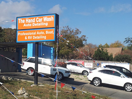 Hand Car Wash Street View