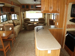 Clean RV Interior